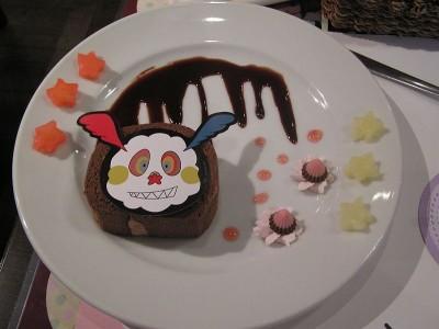 まどかカフェで出されたシャルロッテケーキ