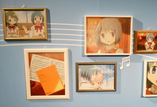 上条の楽譜の写真や、明るいさやか、優しいさやかの画像。