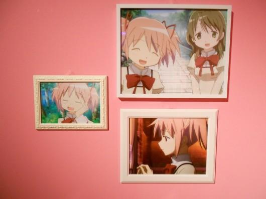 アニメの名シーン。仁美も写っています。